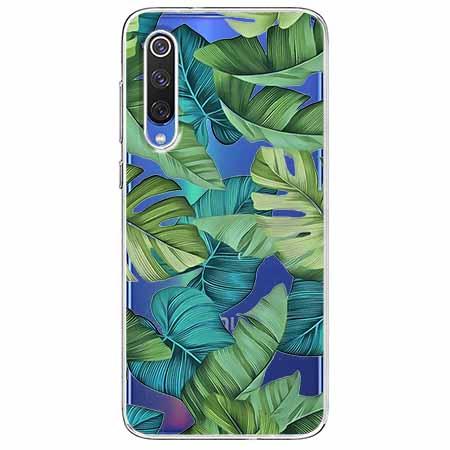 Etui na Xiaomi Mi 9 - Egzotyczne liście