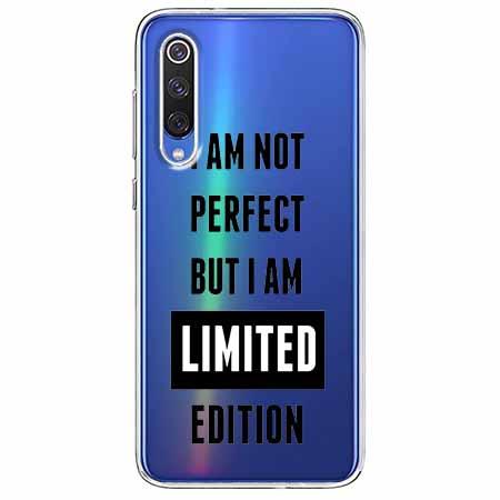 Etui na Xiaomi Mi 9 - I Am not perfect…