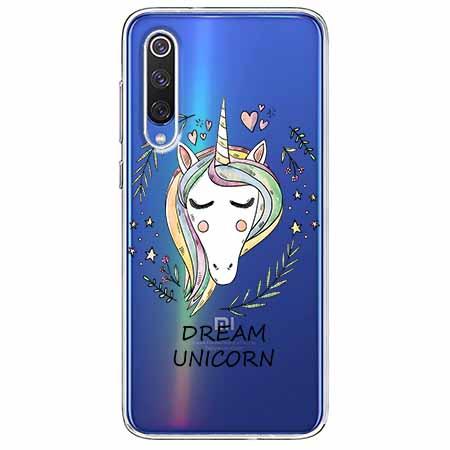 Etui na Xiaomi Mi 9 - Dream unicorn - Jednorożec.