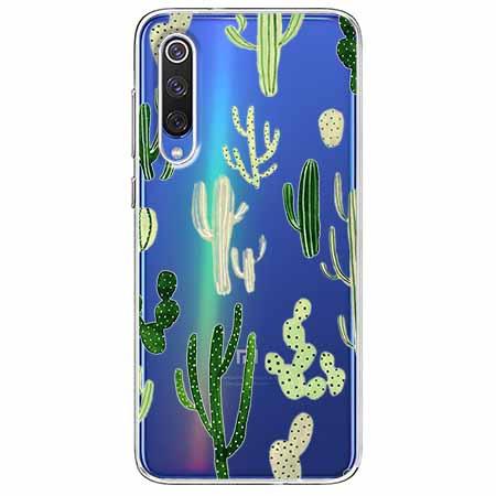 Etui na Xiaomi Mi 9 - Kaktusowy ogród.