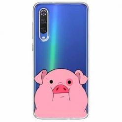 Etui na Xiaomi Mi 9 - Słodka różowa świnka.