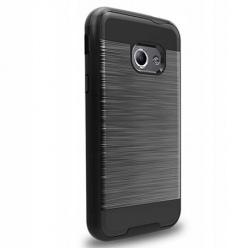 Etui na Galaxy Xcover 4 bumper Neo KARBON - Czarny.