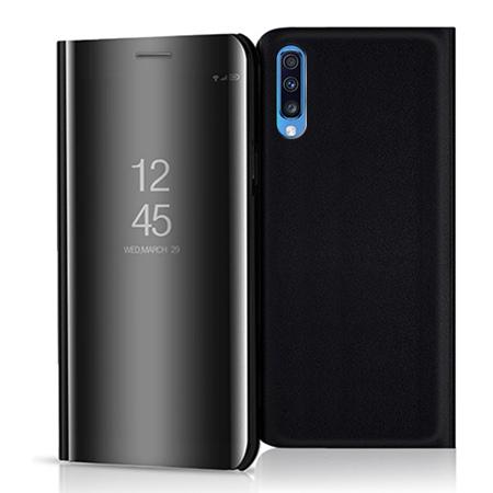 Etui na Samsung Galaxy A70 - Flip Clear View z klapką - Czarny.