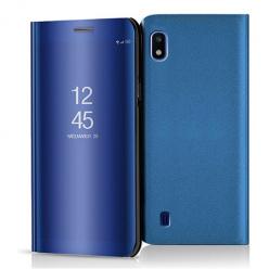 Etui na Samsung Galaxy A10 - Flip Clear View z klapką - Niebieski.