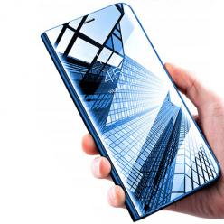 Etui na Galaxy S8 Plus Clear View z klapką - Niebieskie
