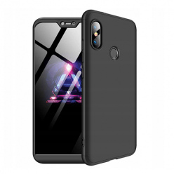 Etui na telefon Huawei P20 Lite - Slim MattE 360 - Czarny.