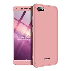 Etui na telefon Xiaomi Redmi 6A - Slim MattE 360 - Różowy.
