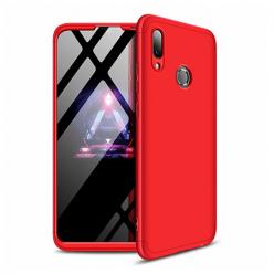Etui na telefon Huawei Y7 2019 - Slim MattE 360 - Czerwony.