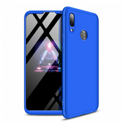 Etui na telefon Huawei Y7 2019 - Slim MattE 360 - Niebieski.
