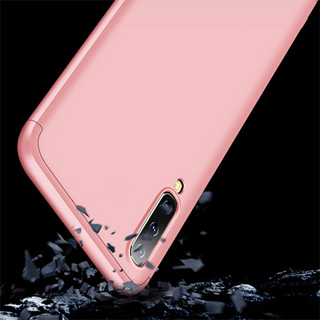 Etui na telefon Samsung Galaxy A50 - Slim MattE 360 - Różowy.