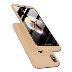 Etui na telefon Xiaomi Redmi Note 5 Pro - Slim MattE 360 - Złoty.