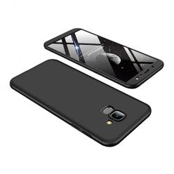 Etui na telefon Samsung Galaxy A6 2018 - Slim MattE 360 - Czarny.