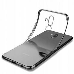 Etui na Huawei Mate 20 Lite - platynowane SLIM - Czarny