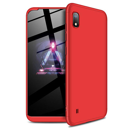 Etui na telefon Samsung Galaxy A10 - Slim MattE 360 - Czerwony