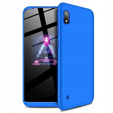 Etui na telefon Samsung Galaxy A10 - Slim MattE 360 - Niebieski