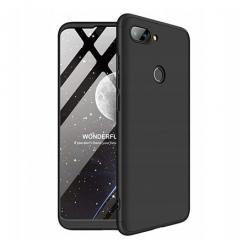Etui na telefon Xiaomi Mi 8 Lite - Slim MattE 360 - Czarny.