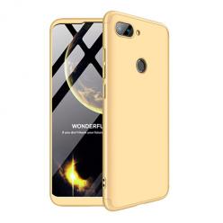 Etui na telefon Xiaomi Mi 8 Lite - Slim MattE 360 - Złoty.