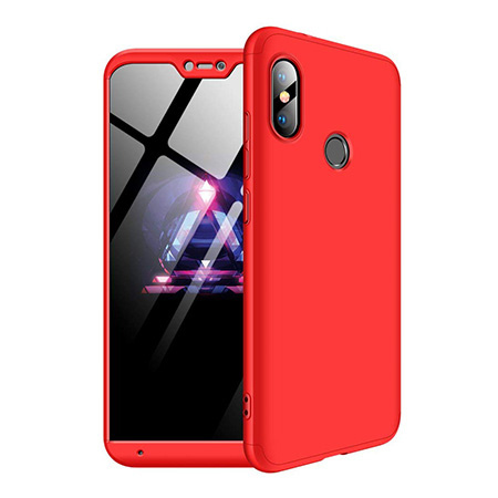 Etui na telefon Xiaomi Redmi Note 6 Pro - Slim MattE 360 - Czerwony.