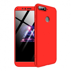 Etui na telefon Huawei Y6 2018 - Slim MattE 360 - Czerwony.