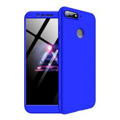 Etui na telefon Huawei Y6 2018 - Slim MattE 360 - Niebieski.