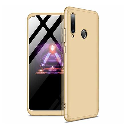 Etui na telefon Huawei P30 Lite - Slim MattE 360 - Złoty.