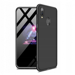 Etui na telefon Samsung Galaxy A40 - Slim MattE 360 - Czarny.