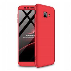 Etui na telefon Samsung Galaxy J4 Plus - Slim MattE 360 - Czerwony.