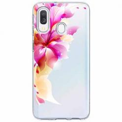 Etui na Samsung Galaxy A20e - Bajeczny kwiat.