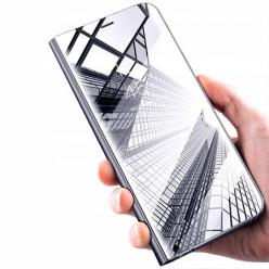 Xiaomi Redmi Note 5 Pro Clear View z klapką - Srebrny