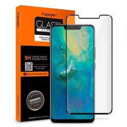 Huawei Mate 20 Pro hartowane szkło Spigen Glass.TR - Czarny.