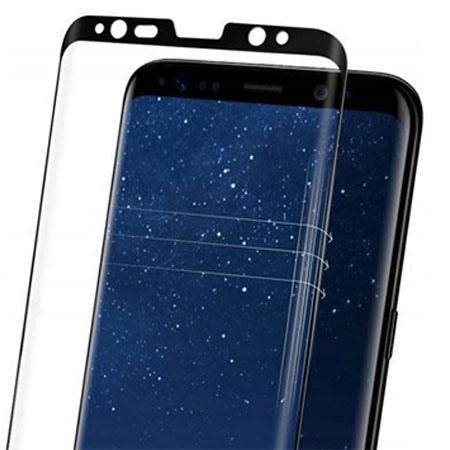 Samsung Galaxy S9 hartowane szkło Spigen Glass.TR - Czarny.