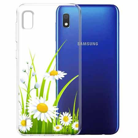 Etui na Samsung Galaxy A10 - Polne stokrotki.