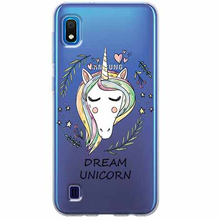 Etui na Samsung Galaxy A10 - Dream unicorn - Jednorożec.