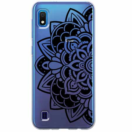Etui na Samsung Galaxy A10 - Kwiatowa mandala.