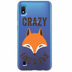 Etui na Samsung Galaxy A10 - Crazy like a fox.