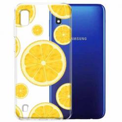 Etui na Samsung Galaxy A10 - Cytrynowe orzeźwienie.