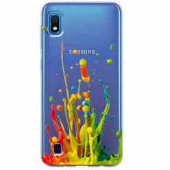 Etui na Samsung Galaxy A10 - Kolorowy splash.