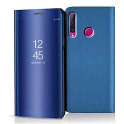 Etui na Huawei Honor 20 Lite - Flip Clear View z klapką - Niebieski.