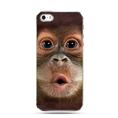 Etui uśmiechnięta małpka Face 3d