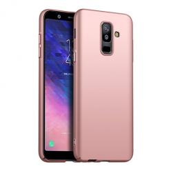 Etui na telefon Galaxy A6 Plus 2018 - Slim MattE - Różowy.