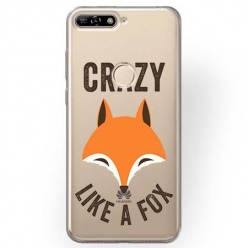 Etui na Huawei Y6 Prime 2018 - Crazy like a fox.