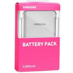 Oryginalny Power bank ładowarka Samsung 3000 mAh - Srebrny