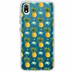 Etui na telefon Huawei Y5 2019 - Ananasowe szaleństwo.