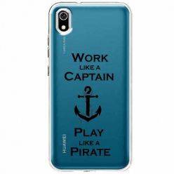 Etui na telefon Huawei Y5 2019 - Work like a Captain…