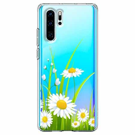 Etui na telefon Huawei P30 Pro - Polne stokrotki.