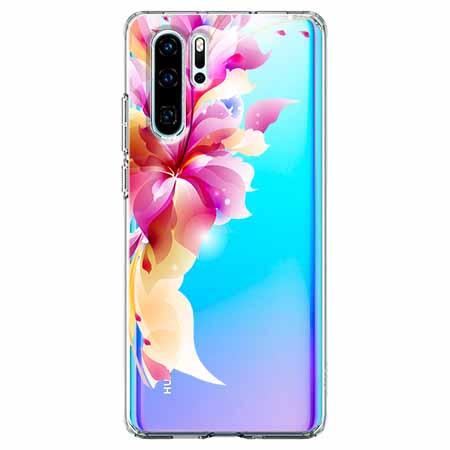 Etui na telefon Huawei P30 Pro - Bajeczny kwiat.