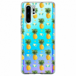 Etui na telefon Huawei P30 Pro - Ananasowe szaleństwo.