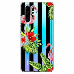 Etui na telefon Huawei P30 Pro - Opowieści flamingów.