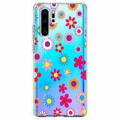 Etui na telefon Huawei P30 Pro - Kolorowe stokrotki.