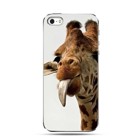 Etui na Apple iPhone 6 plus - Żyrafa z językiem